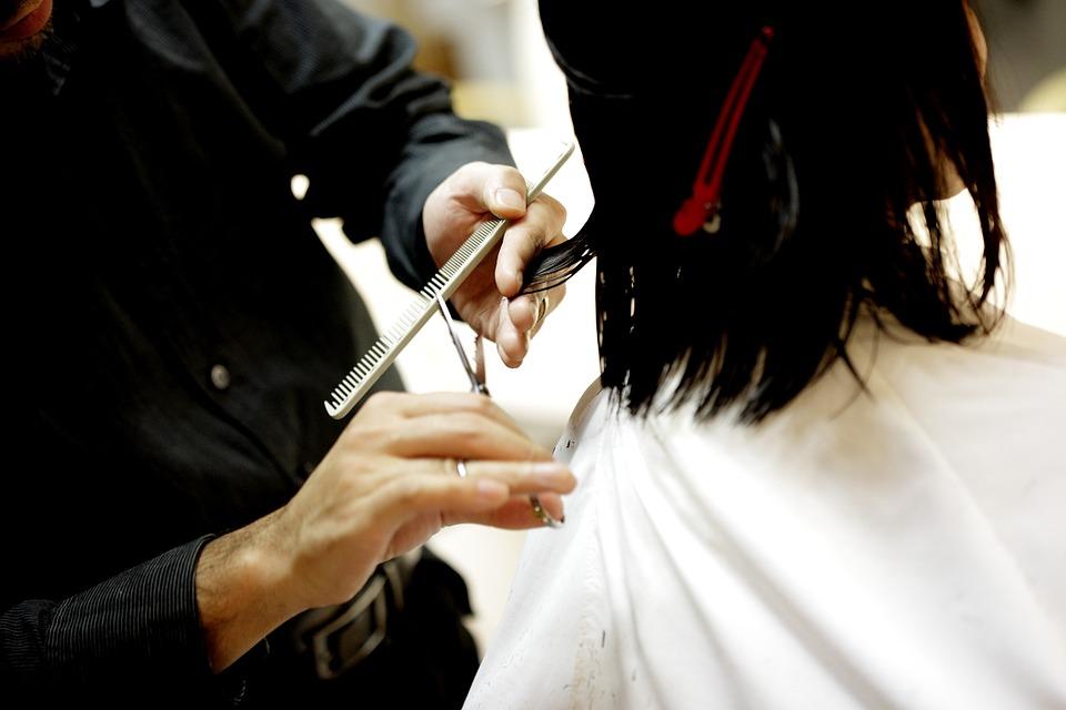 mobilna fryzjerka
